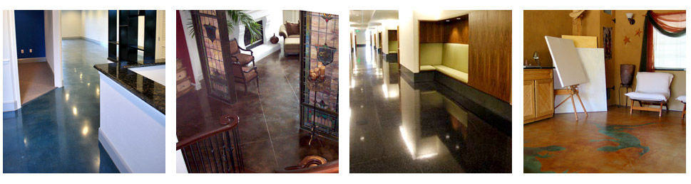 Photos of Concrete Staining, Coating, Dyes and Maintenance by Chem-Coat Industries, Inc.